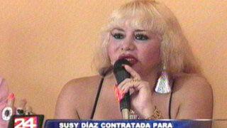 Susy Diaz tendría la oportunidad de conocer a la Reina Isabel