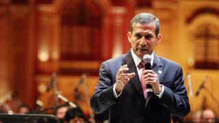 Ollanta Humala presidió cena de Gala del Foro Económico Mundial