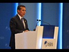 Presidente Humala inauguró Foro Económico Mundial