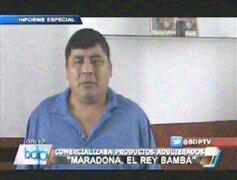 """Policía captura al """"rey"""" de productos adulterados en el Cercado de Lima"""