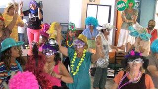 "Centro del Adulto Mayor de La Molina protagoniza irreverente ""Harlem Shake"""