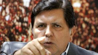 Megacomisión debe definir causas por las que denuncia a Alan García