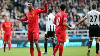 Liverpool goleó 6-0 al Newcastle por la Premier League