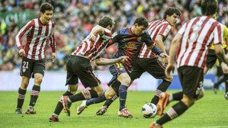 Barcelona empató 2 a 2 con Athletic Bilbao por la Liga Española