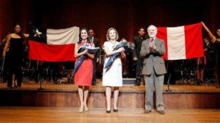 Primeras damas de Perú y Chile disfrutaron concierto en Teatro Nacional