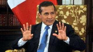 Congreso responde a las expresiones del presidente Ollanta Humala