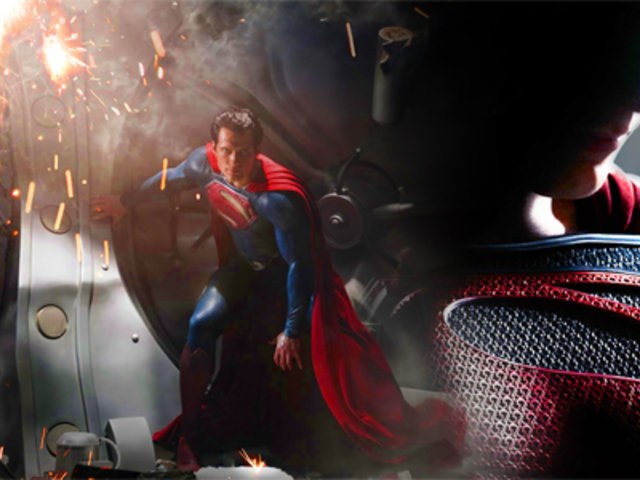 Revelan impactantes imágenes del regreso de Superman en