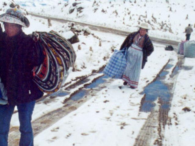 Puno y otras zonas altoandinas registran temperaturas entre -11 y -15 grados