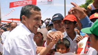 """Presidente Humala: Desarrollo agrícola cerrará """"brecha de la desigualdad"""""""