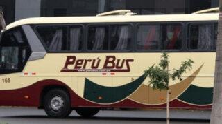 Asalto a bus interprovincial en Cerro Azul dejó tres pasajeros heridos