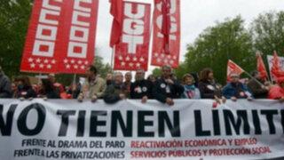 Protestas en todo el mundo marcan el Día Internacional del Trabajo