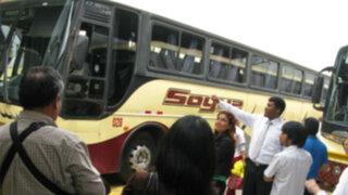 Encapuchados asaltaron bus interprovincial en la Panamericana Sur