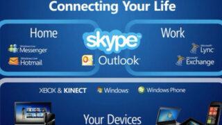 Microsoft integró Skype a la interfaz de su servicio de mensajería Outlook