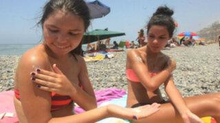 Los peligros de la radiación: intenso verano podría causar cáncer en la piel