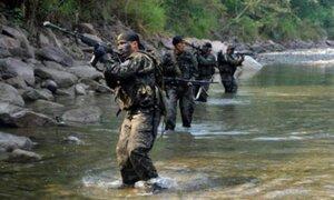 Vraem: enfrentamiento entre el Ejército y presuntos delincuentes dejó varios heridos