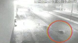 Automóvil se dio a la fuga tras atropellar al conductor de un triciclo