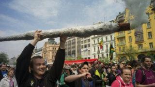 Miles de mexicanos marcharon exigiendo despenalización de la marihuana