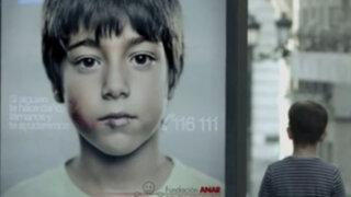 Crean ingeniosa campaña contra el abuso infantil solo vista por niños