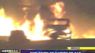 Noticias de las 6: explota camión de gas y deja 20 muertos en México