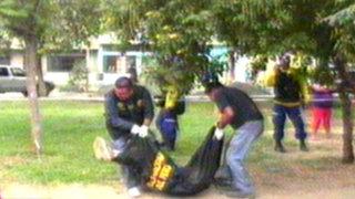 Reciclador fue asesinado en parque de San Juan de Lurigancho
