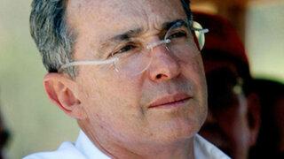 Álvaro Uribe solicita protección por acusación de Nicolás Maduro