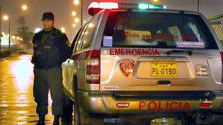 En rápido operativo policial recuperan camioneta robada en SJL