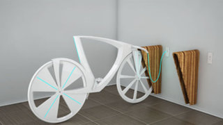 'Levitation', una bicicleta que nos suministra electricidad y WiFi