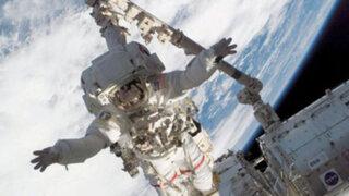 Astronautas reparan fuga de amoniaco en la Estación Espacial Internacional