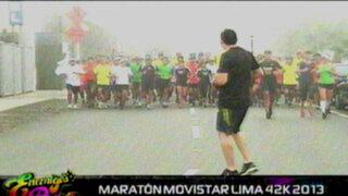 Entrenando para 'El Gran Show': a ponerse en forma en la maratón de Movistar