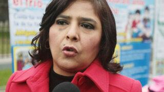 Fuerza Popular presenta denuncia constitucional contra ministra Jara
