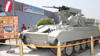 """El Pentagonito apertura exposición de tecnología militar """"SITDEF 2013"""""""