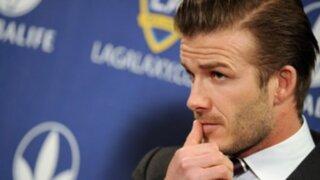David Beckham anunció su retiro del fútbol al final de la Ligue 1