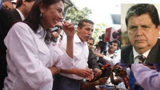 Nadine Heredia: Alan García debe tratar de defenderse solo