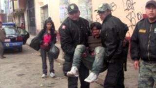 Huancayo: golpean salvajemente y roban a discapacitado en silla de ruedas