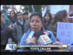 Niña peruana fue ultrajada por sus profesores en Argentina
