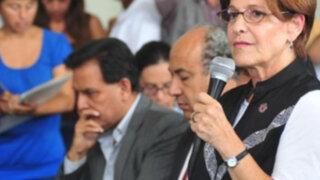 """Susana Villarán responde a Fernán Altuve y afirma que """"está en campaña"""""""