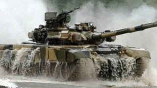 Rusia podría obsequiar al Perú el tanque de guerra T-90S