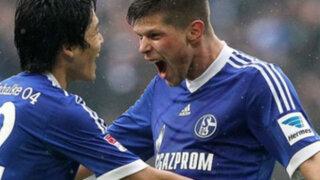 Bloque Deportivo: Schalke venció 2-1 al Friburgo y clasificó a la Champions