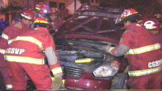 Noticias de las 5: conductor ebrio se estrella contra vivienda en Los Olivos