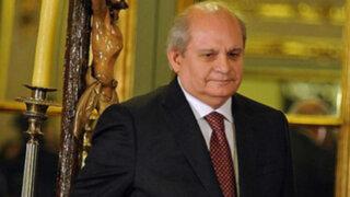 Ministro Cateriano admitió que se comunica con Nadine Heredia