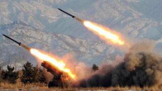 Corea del Norte dispara sexto misil por tercer día consecutivo