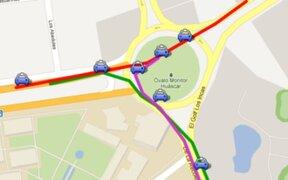 Reordenamiento vial en óvalo Monitor alivia tránsito en La Molina