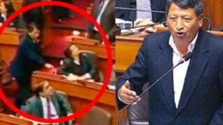 Congreso oficializó sanción contra legislador nacionalista Rubén Condori
