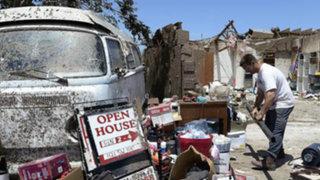 Familias peruanas figuran entre damnificados por tornado en Oklahoma