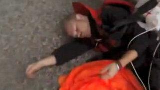 Paracaidista salva milagrosamente tras sufrir accidente en Italia