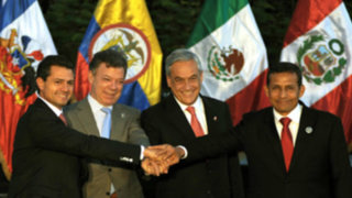 Presidente Humala partió a Cumbre de la Alianza del Pacífico