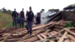 Puerto Maldonado: tres estibadores mueren en accidente de camión