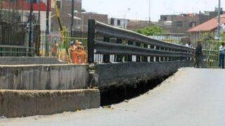 SMP: Municipio de Lima extiende más el plazo para colocar puente bailey
