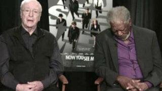 Morgan Freeman sufrió bochornoso incidente durante una entrevista