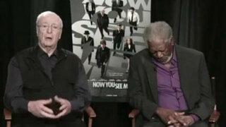 """Morgan Freeman """"No me quedé dormido, testeaba el último Google Eyelids"""""""